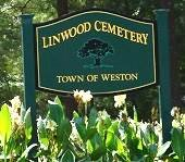 linwood cemetery sign