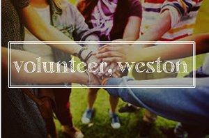 volunteer, weston