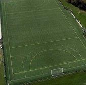 a soccer field