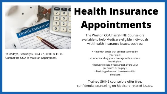 SHINE Health Insurance Appointments