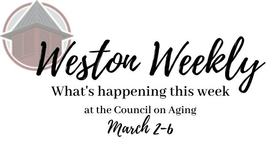 Weston Weekly March 2-6