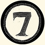 print type number seven