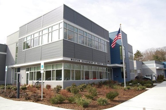 The DPW building