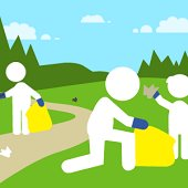 town clean up