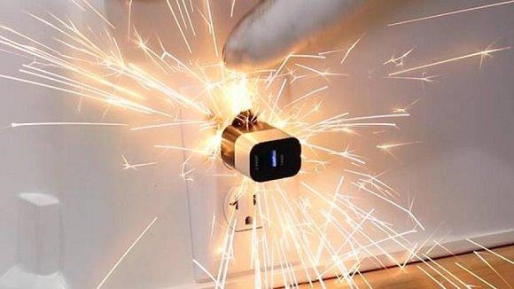 sparking outlet
