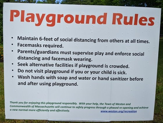rules for playground use