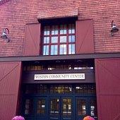 community center front door