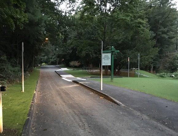 church street rail trail entrance