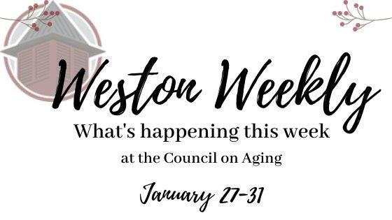 Weston weekly january 27-31