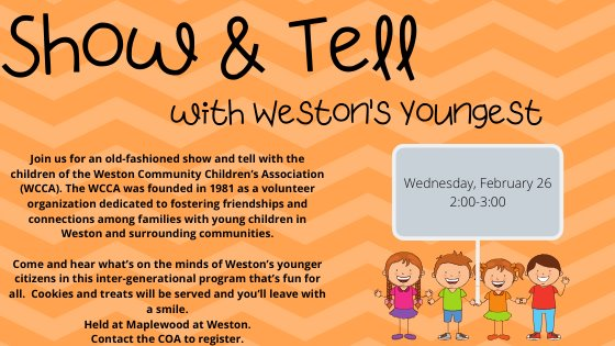 Show and Tell February 26