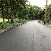 glen road final pavement