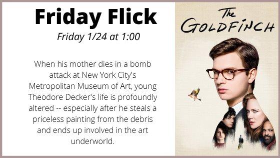 Friday movie Goldfinch