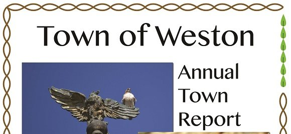 town of weston annual town report