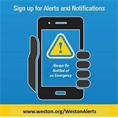 sign up for weston alerts