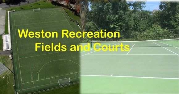 weston recreation fields and courts