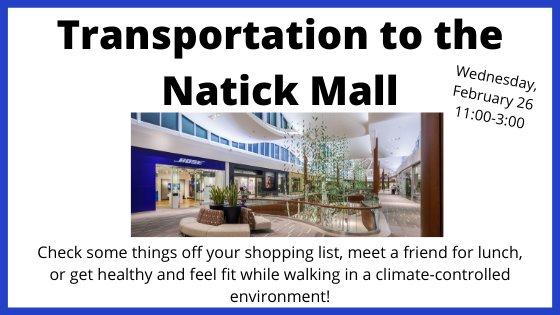 Natick Mall February 26