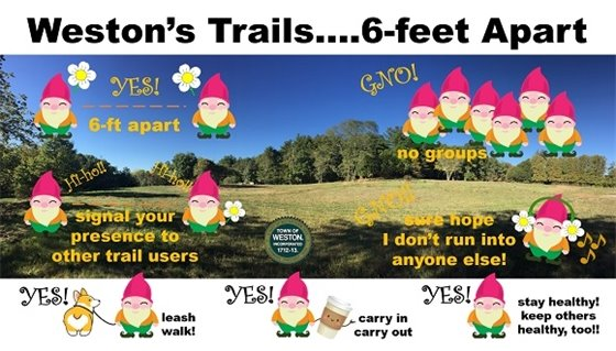 gnome what to do on the trails