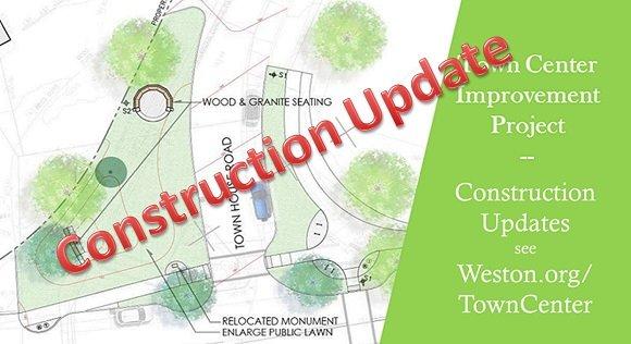town center construction update
