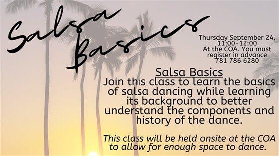 salsa basics