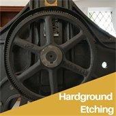 Hardground etching