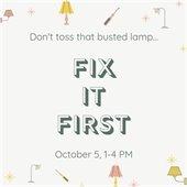 Fix It First