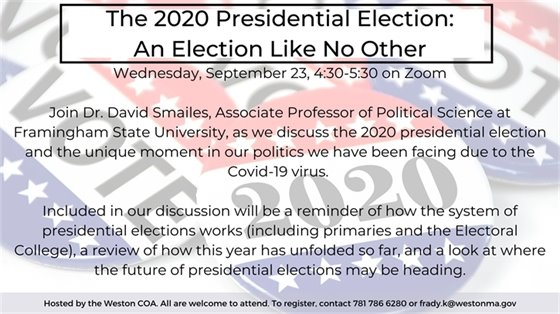 presidential election talk