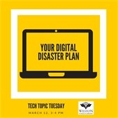 Your Digital Disaster Plan