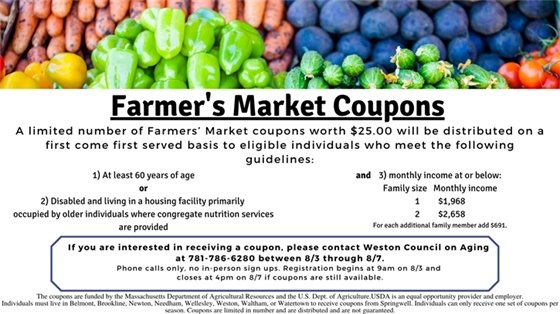 farmers market coupons