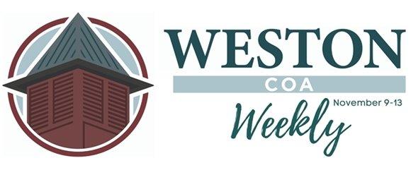 weston coa weekly november 9-13