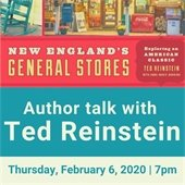 author talk with ted reinstein