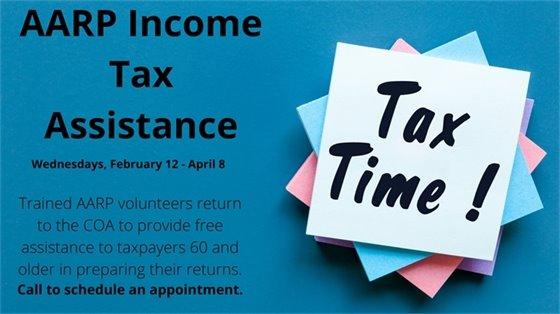 AARP tax assistance