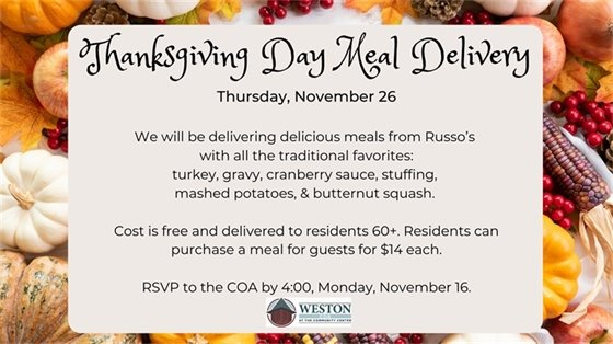 thanksgiving meal deliveries