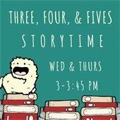 3,4,5 storytime