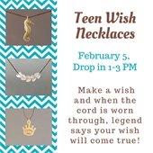 Teen Wish Necklaces