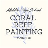 Coral Reef Painting for teens