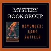 Mystery Book Discussion Group Bone Rattler