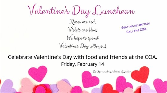 valentine's day luncheon friday february 14 12:00-1:00
