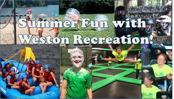 summer fun with weston recreation and pictures of summer camp kids having fun