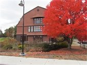 fall picture of community center