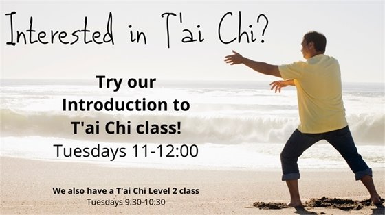 introduction to tai chi tuesdays 11