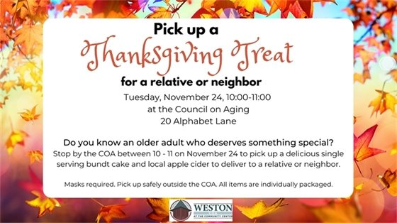 pick up thanksgiving treat