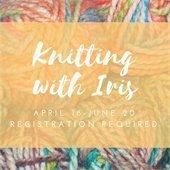 Knitting with Iris