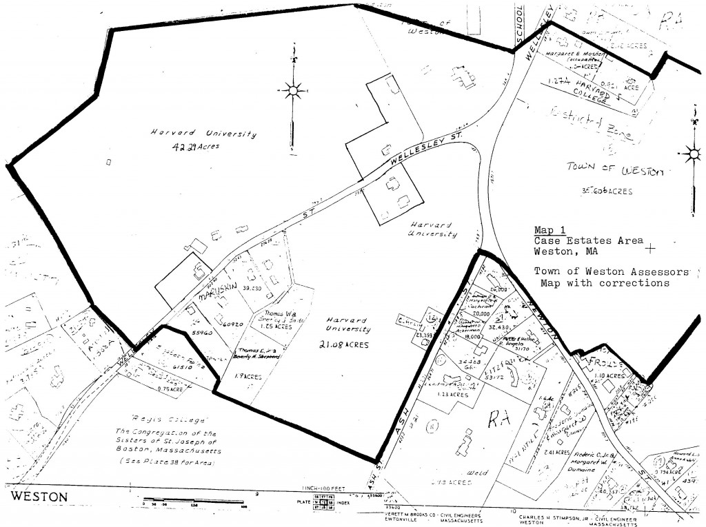 Case Area Map