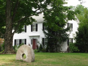 3 Maple Road, the original farmhouse in the neighborhood
