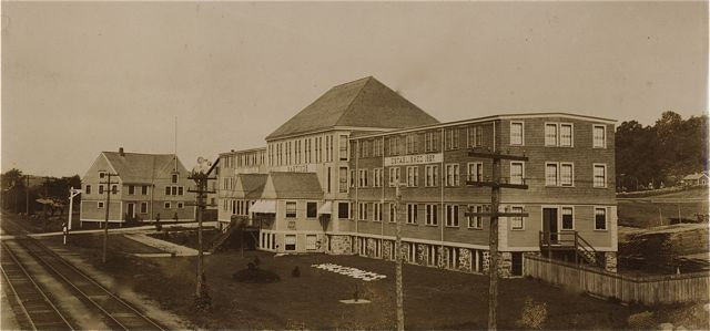 A photo of the Hook and Hastings Organ Factory