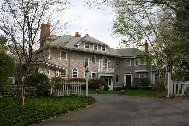 A large house at 42 Hill Top Road