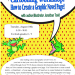 cartooning workshop august