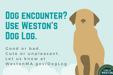 Dog encounter_ Use Westons Dog Log